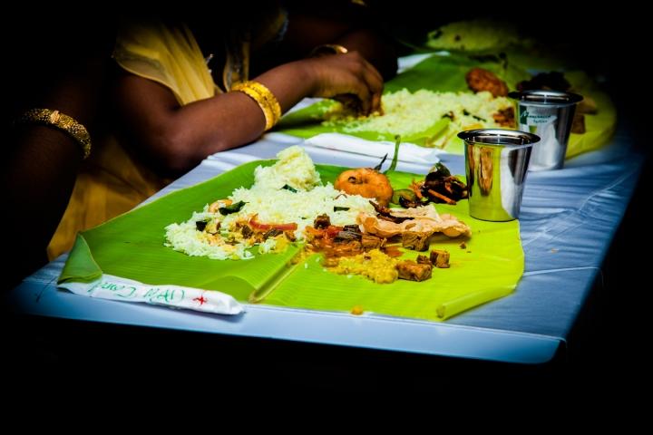 Wedding Lunch on Banana Leaf